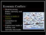 economic conflicts