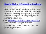 resale rights information products5