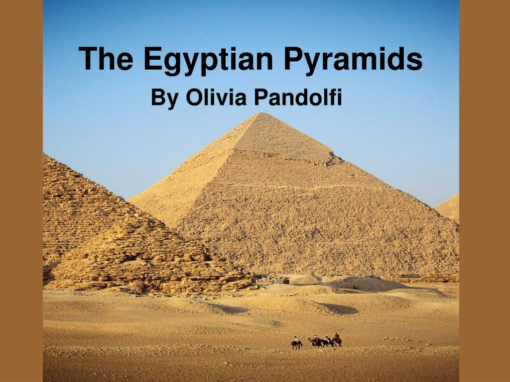 the egyptian pyramids l.