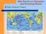 why earth is a dynamic and evolving planet25