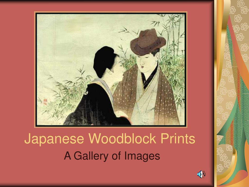 japanese woodblock prints l.