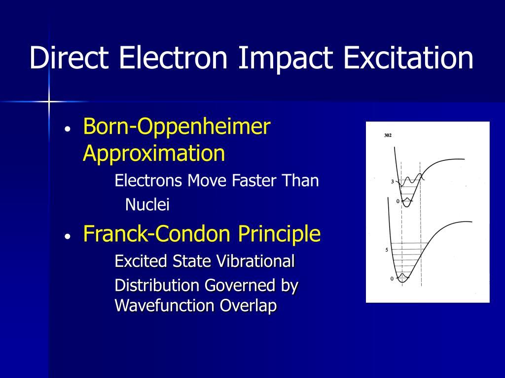 Direct Electron Impact Excitation