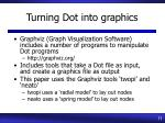 turning dot into graphics