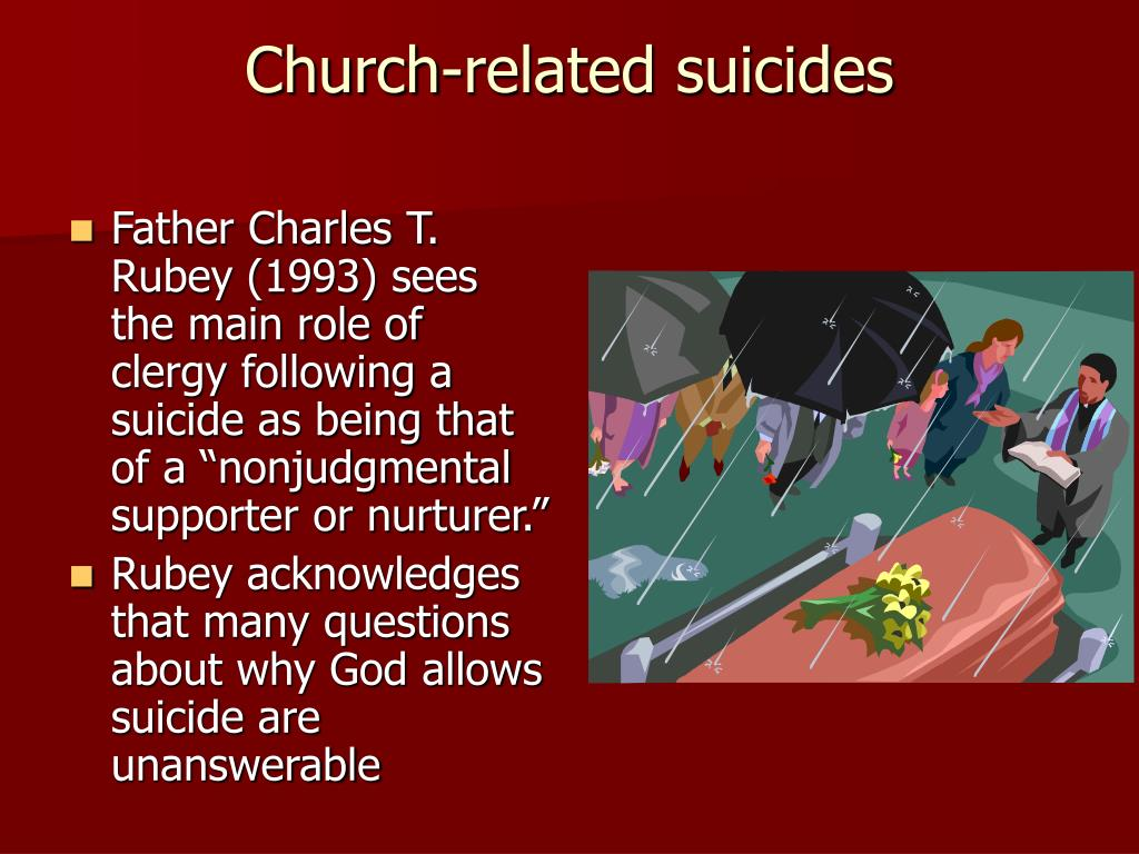 Church-related suicides
