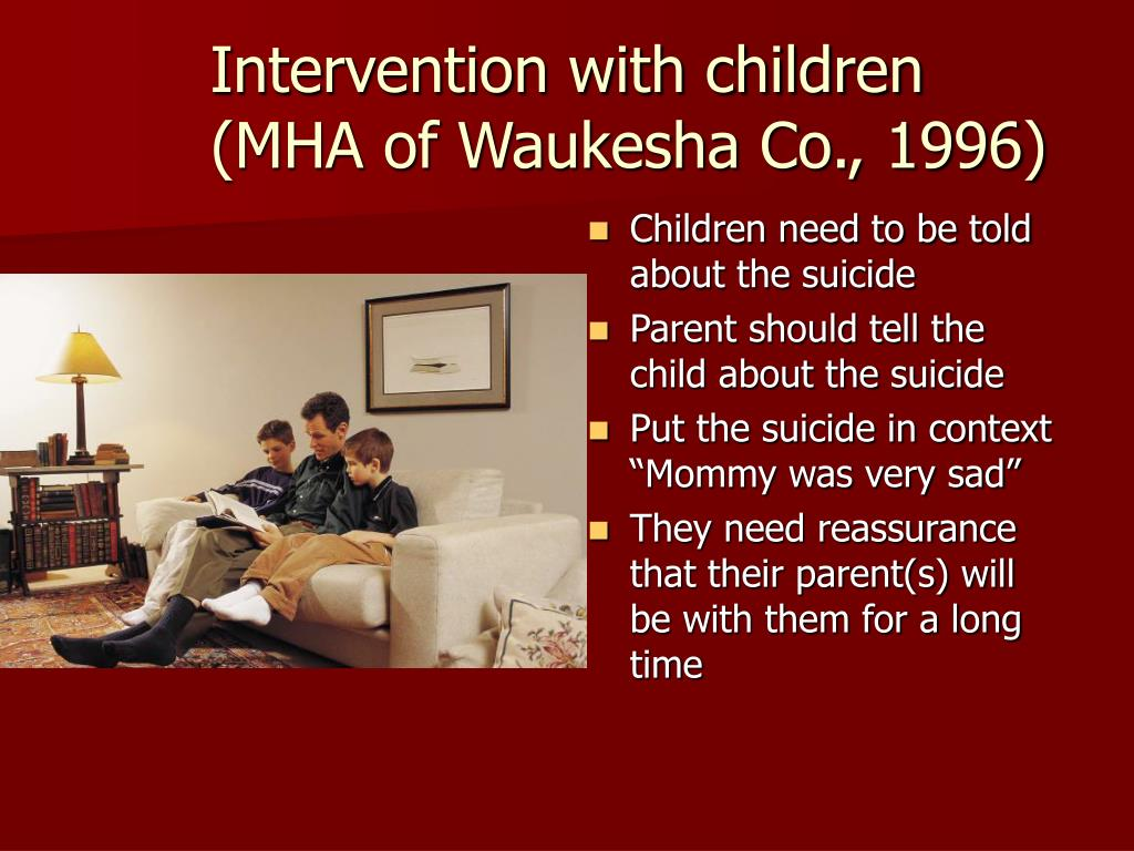 Intervention with children