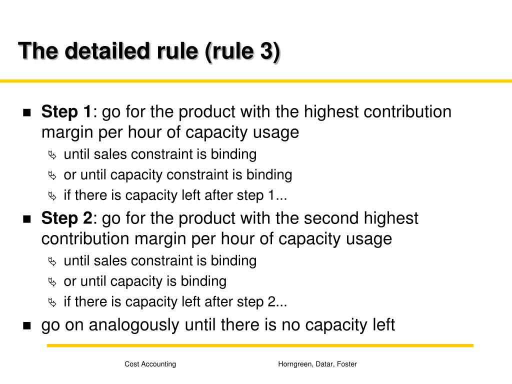 The detailed rule (rule 3)