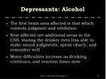 depressants alcohol13
