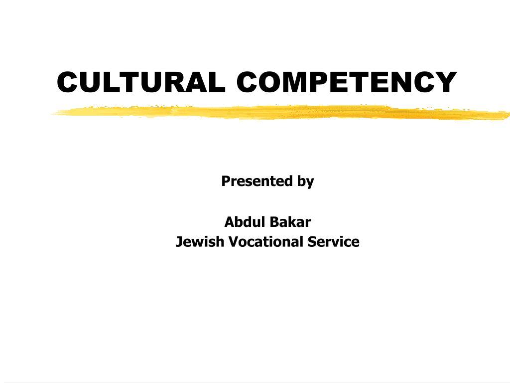 cultural competency l.