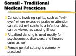 somali traditional medical practices17