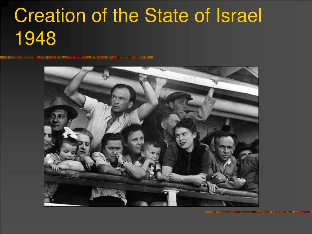 Creation of the State of Israel 1948