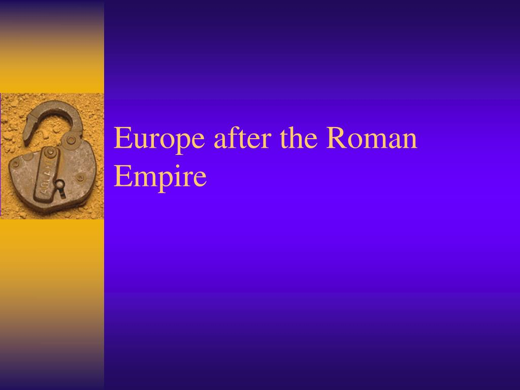 europe after the roman empire l.