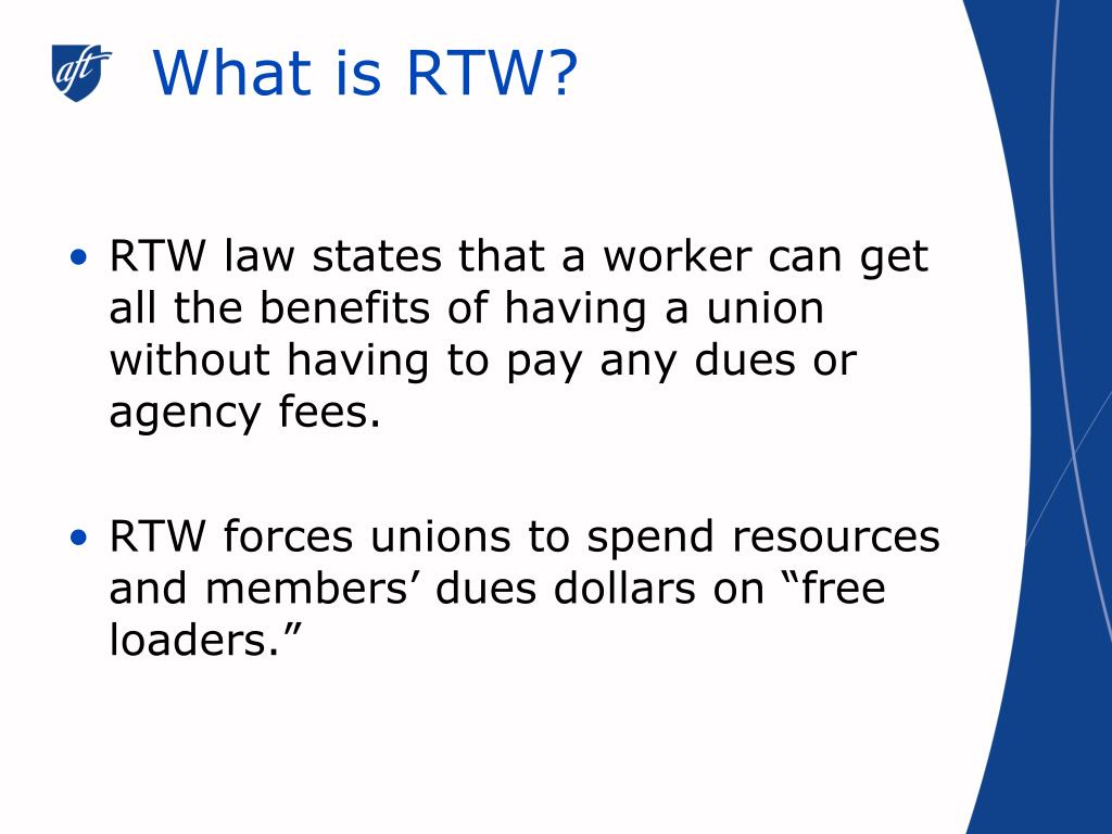 What is RTW?
