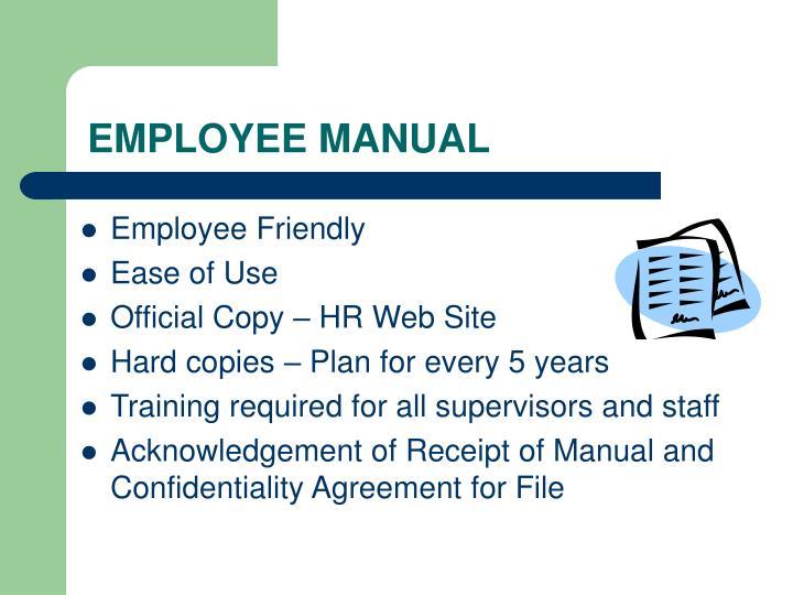 Employee manual3