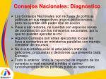 consejos nacionales diagn stico5