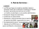 4 red de servicios