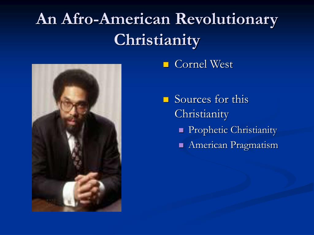 an afro american revolutionary christianity l.