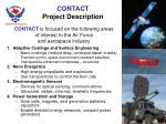 contact project description