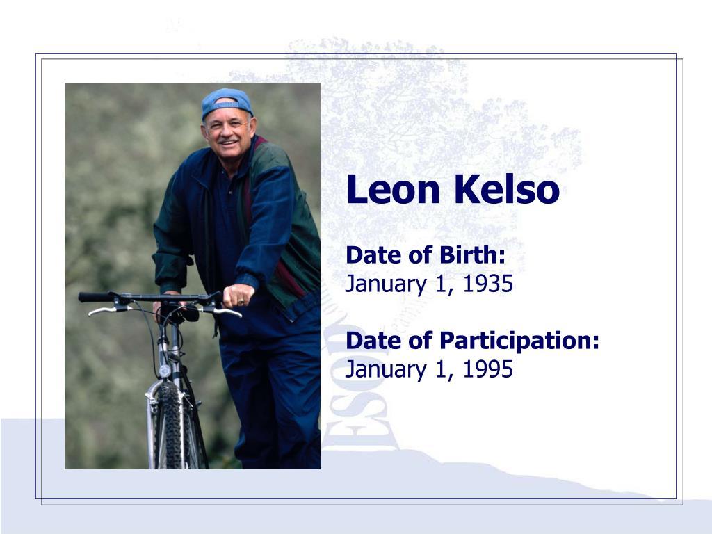 Leon Kelso
