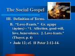 the social gospel10