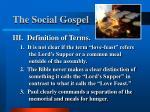 the social gospel11