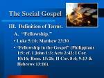 the social gospel9