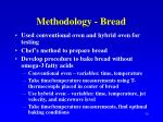methodology bread