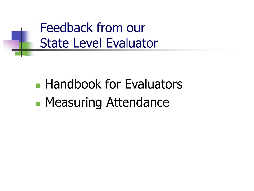 Feedback from our