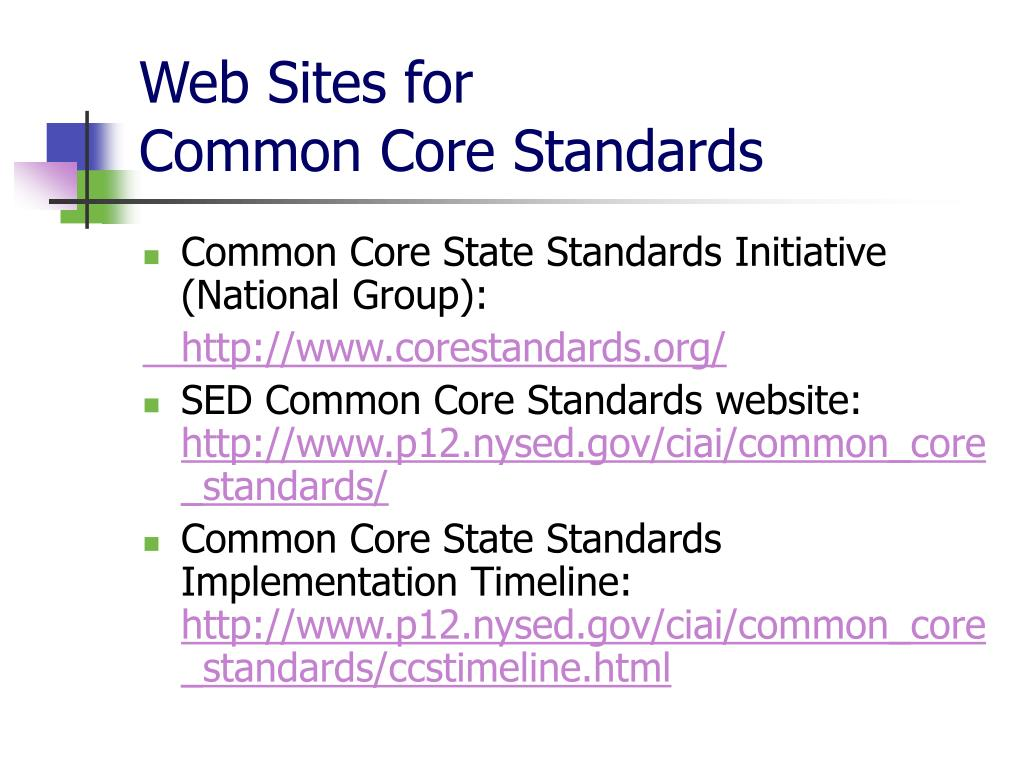 Web Sites for