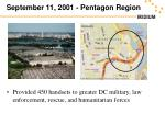 september 11 2001 pentagon region