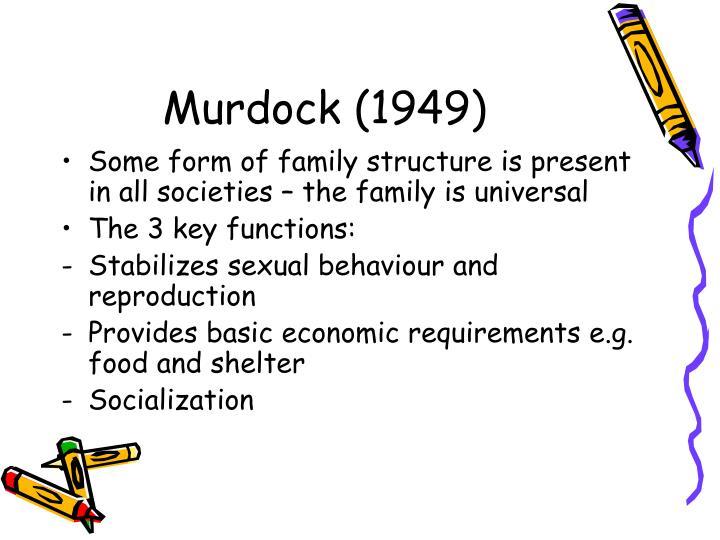 Murdock (1949)