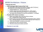 bcoca architecture futures