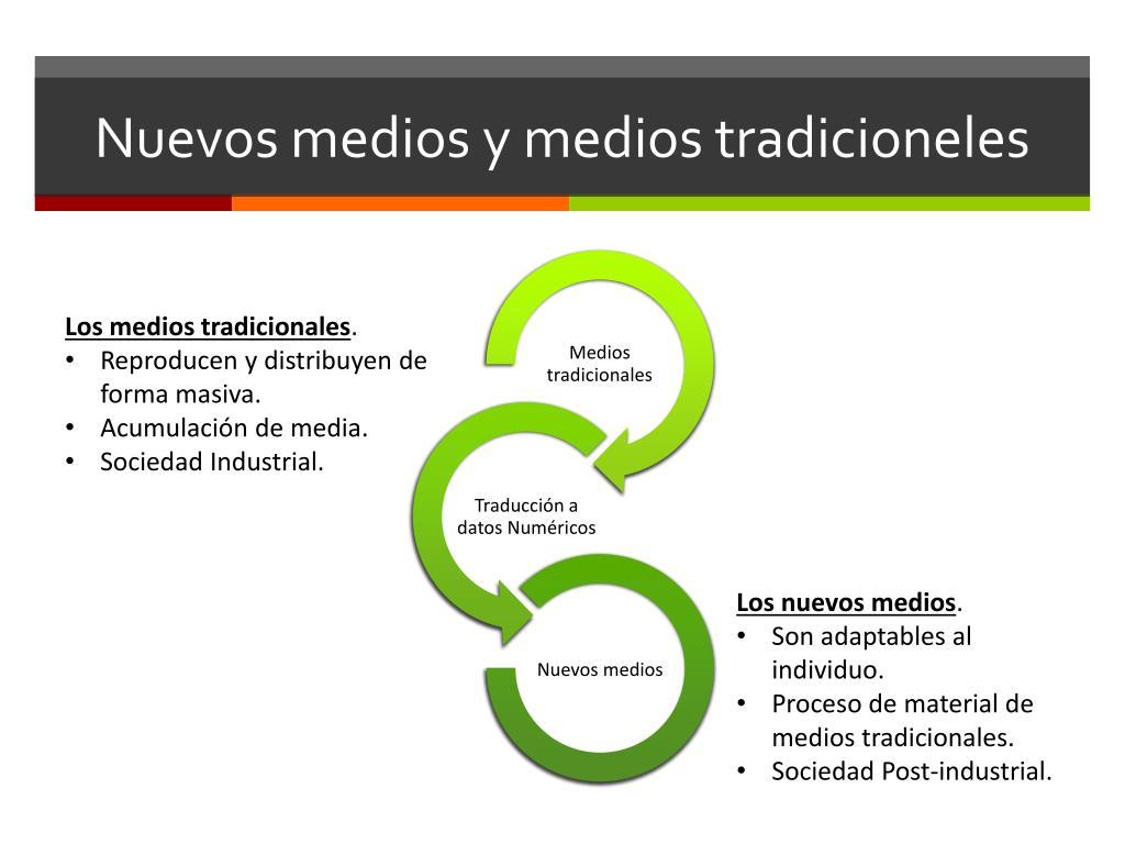 Nuevos medios y medios