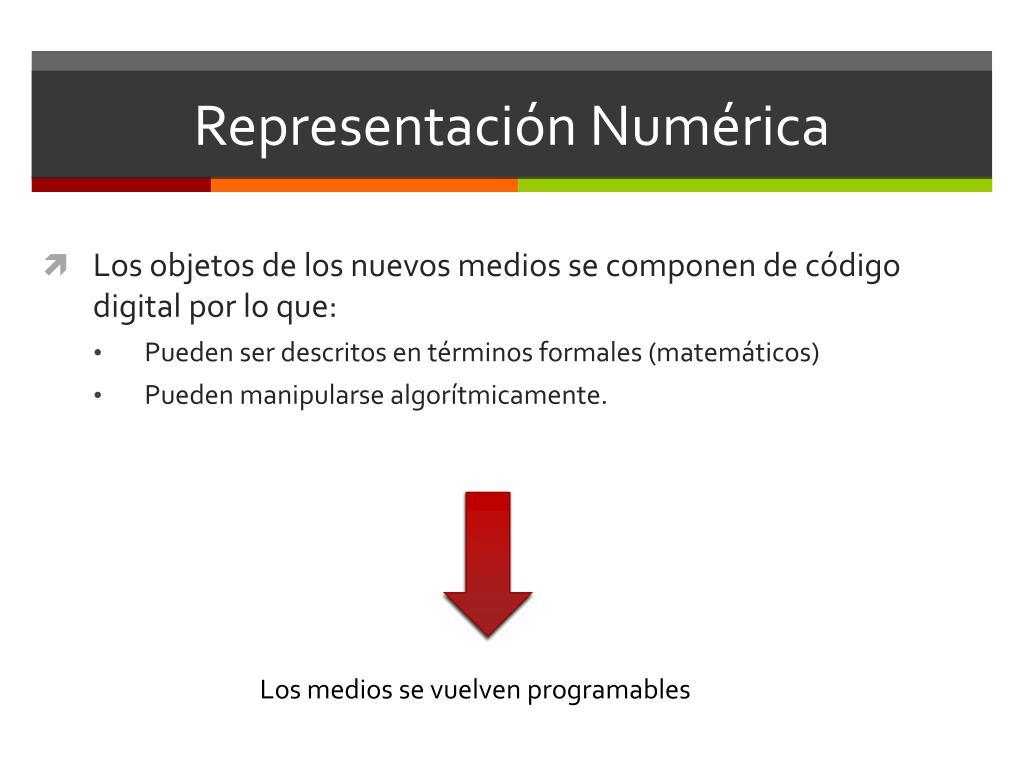 Representación Numérica