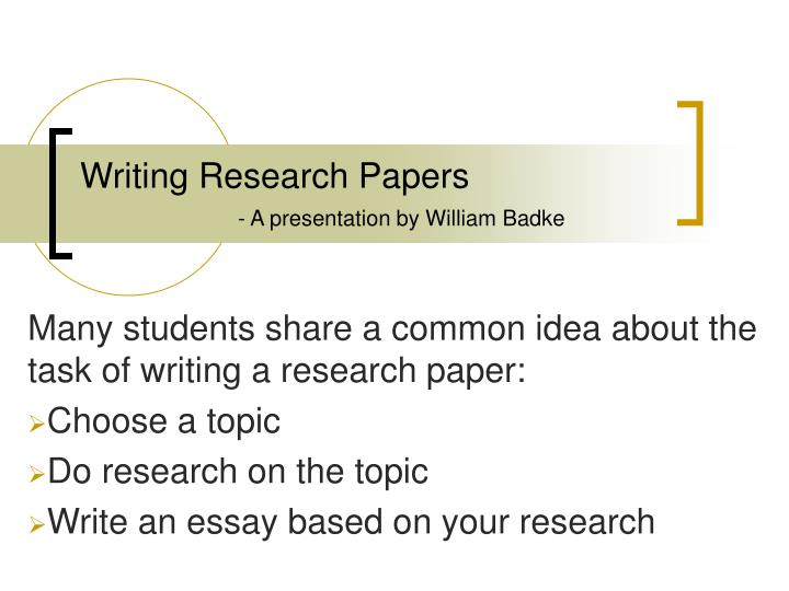 when writing a research paper common knowledge Information and resources about the wr requirement, creative writing,  and revising their research paper, dissertation, presentation, or any other writing project.