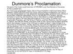 dunmore s proclamation