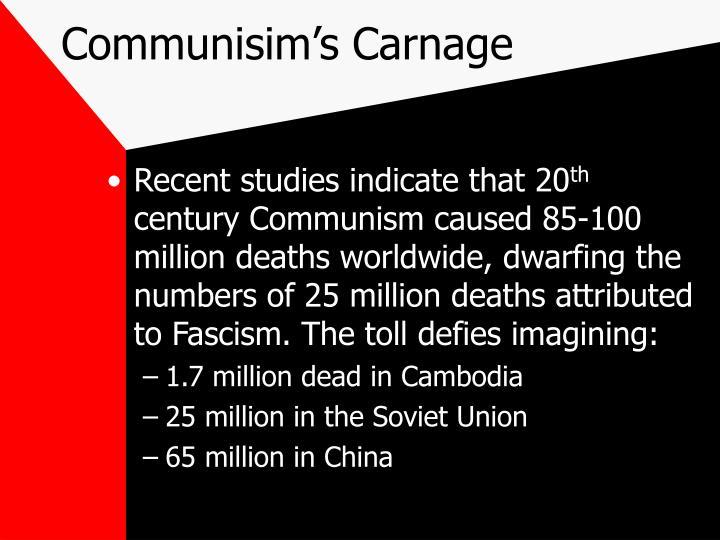 Communisim's Carnage