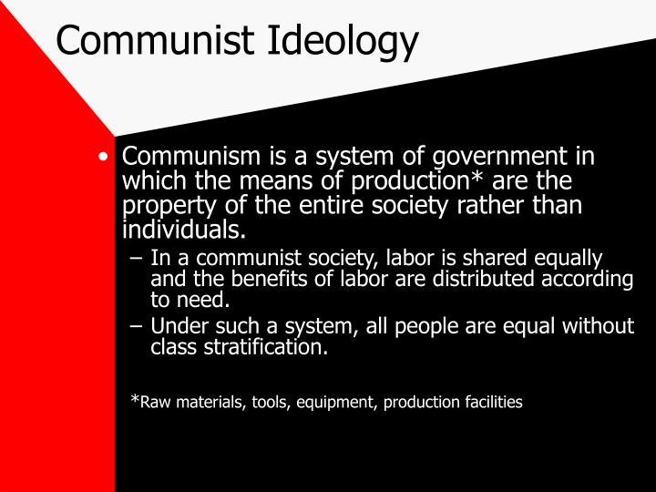 Communist ideology