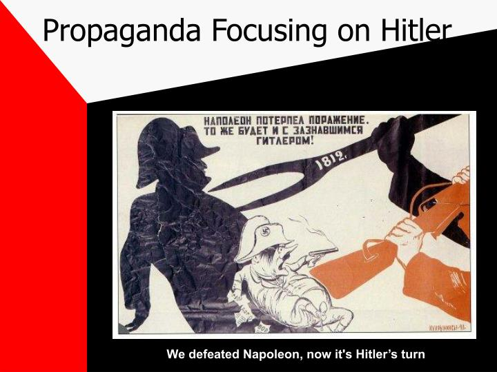 Propaganda Focusing on Hitler