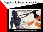 propaganda focusing on hitler