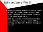 stalin and world war ii