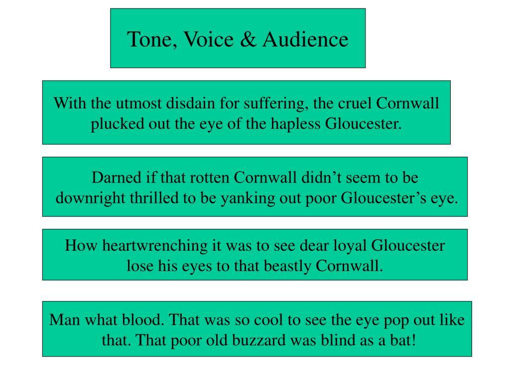 Tone, Voice & Audience