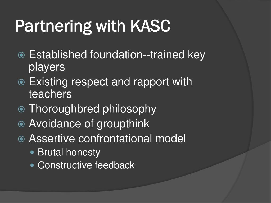 Partnering with KASC