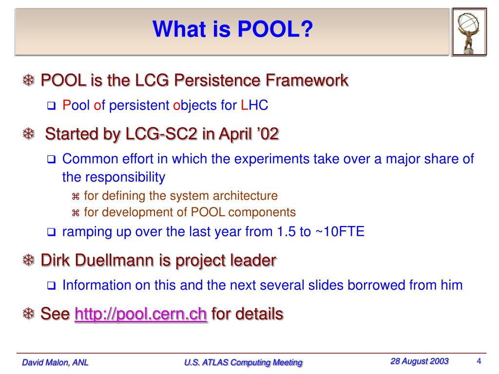 What is POOL?