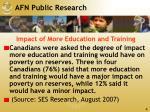 afn public research