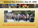 national day of action may 29 2008