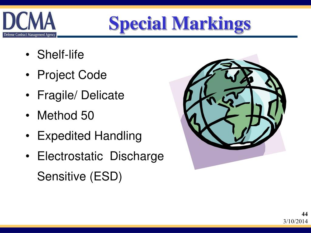 Special Markings