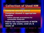 collection of used hm50