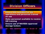 division officers28