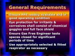 general requirements34