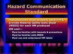 hazard communication standard14